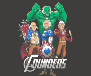 The Founders (Avengers) T-Shirt