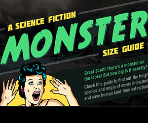 A Guide to Sci-Fi's Biggest Monsters