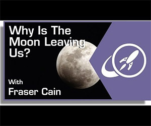 Goodnight Moon: Why is the Moon Leaving Us?