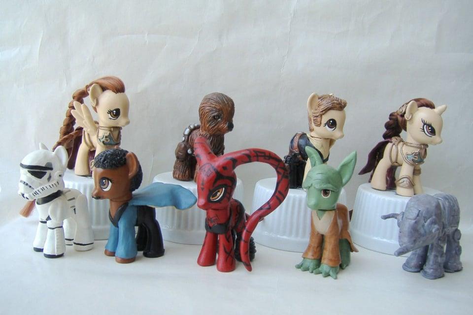 Custom Star Wars My Little Pony Toys
