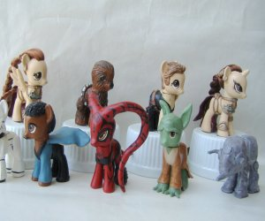Custom Star Wars My Little Pony Toys