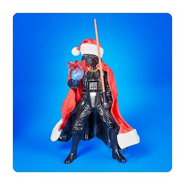 Star Wars Santa Darth Vader with Lightsaber