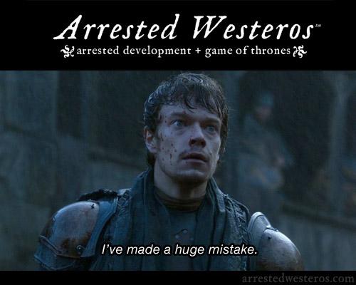 Arrested Development + Game of Thrones: Arrested Westeros