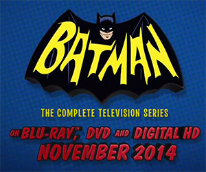 Bam! Batman Adam West TV Series Coming to Blu-ray