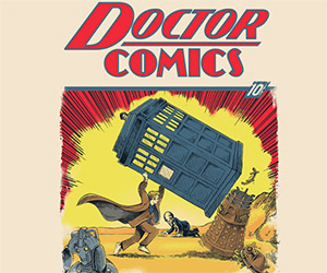 Doctor Comics #1: Doctor Who Meets Superman T-Shirt