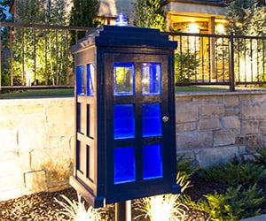 Doctor Who TARDIS Lending Library