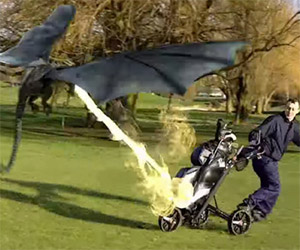 Game of Thrones: There Be Dragons on the Golf Course