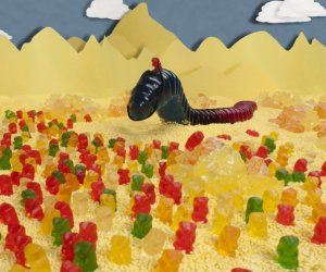 Dune, Recreated Using Gummi Candies