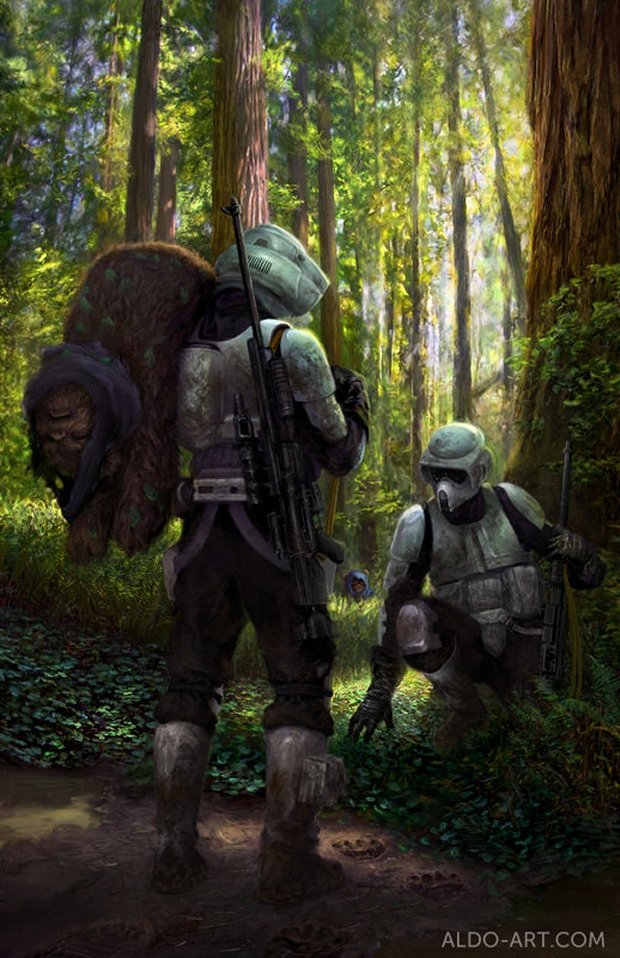 Ewok Hunt: The Sad Side of the Force