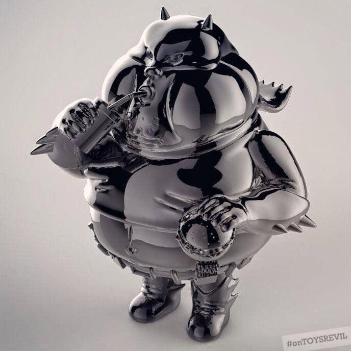 Fat Batman Vinyl Toy: The Chunky Knight
