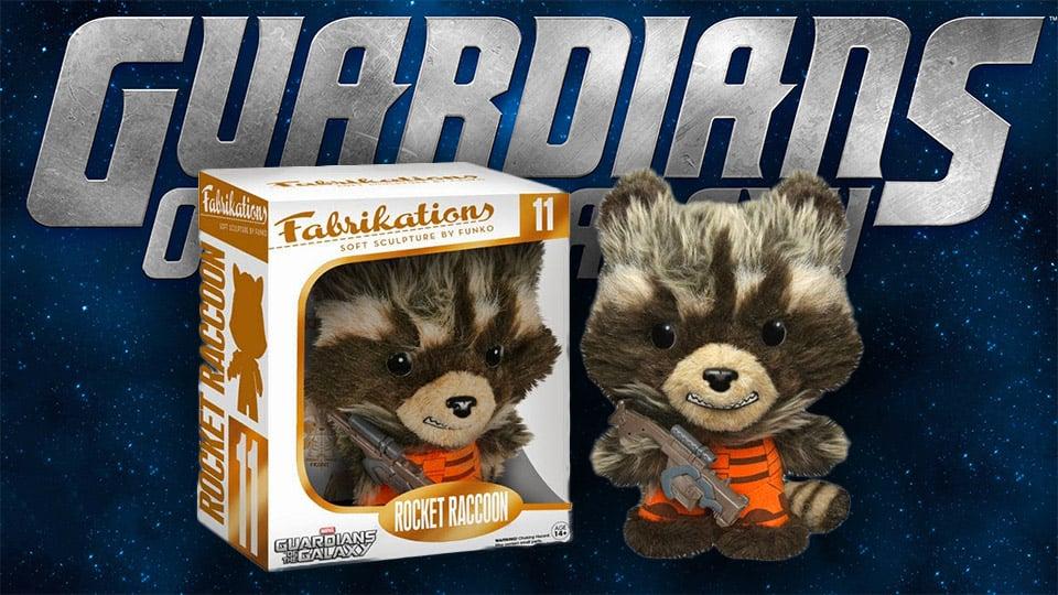 Rocket Raccoon Fabrikations Soft Sculpture