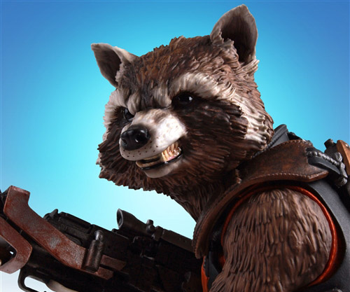 Gentle Giant Rocket Raccoon Mini Bust