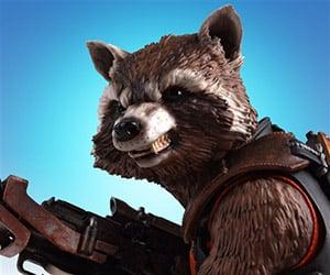 Gentle Giant Rocket Raccoon Mini Bust