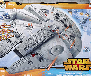 Exclusive Star Wars Hero Series Millennium Falcon