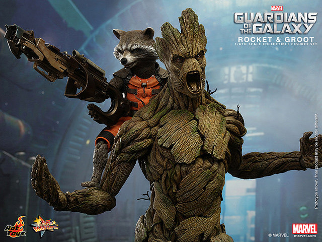 Hot Toys' Guardians of the Galaxy: Rocket & Groot