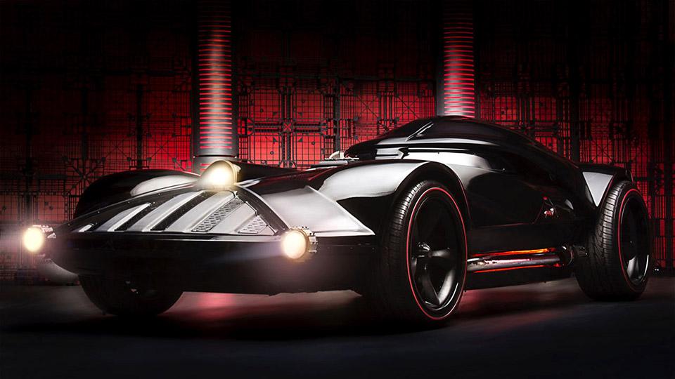 Hot Wheels Darth Vader Car Comes to Life