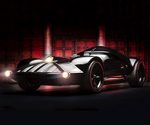 Hot Wheels Darth Vader Car Comes to Life