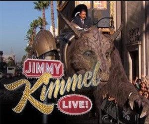 The Giant Creature Appears on Jimmy Kimmel Live