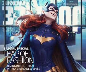 Justice Magazine Batgirl Cover Art