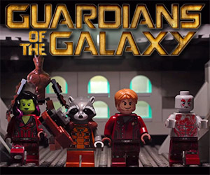 Incredible LEGO Guardians of the Galaxy Trailer
