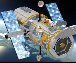 LEGO Hubble Telescope Hits LEGO Ideas