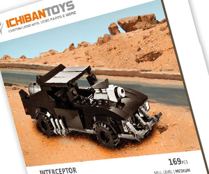 Interceptor LEGO Kit: Mel Gibson Minifig Sold Separately
