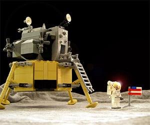 LEGO Apollo 11 Moon Landing Set on LEGO Ideas