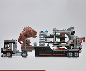 Star Wars Rancor Carnival Ride LEGO Set