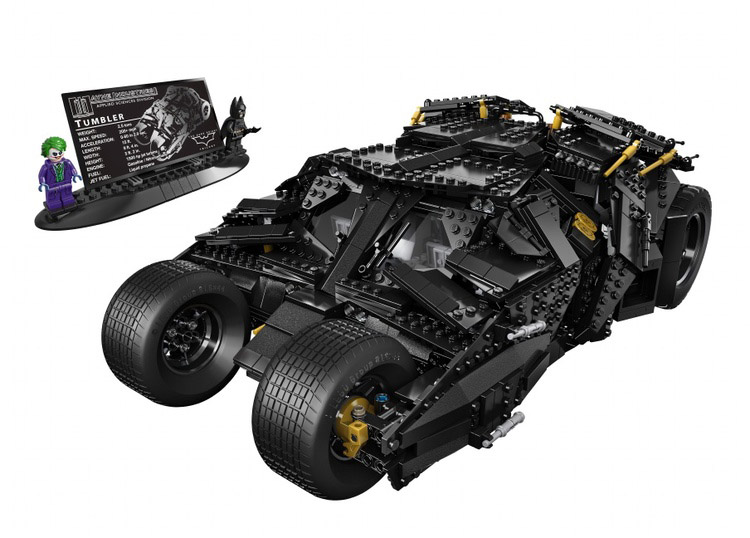 The Dark Knight Tumbler LEGO Set