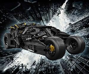 The Dark Knight Tumbler LEGO Set