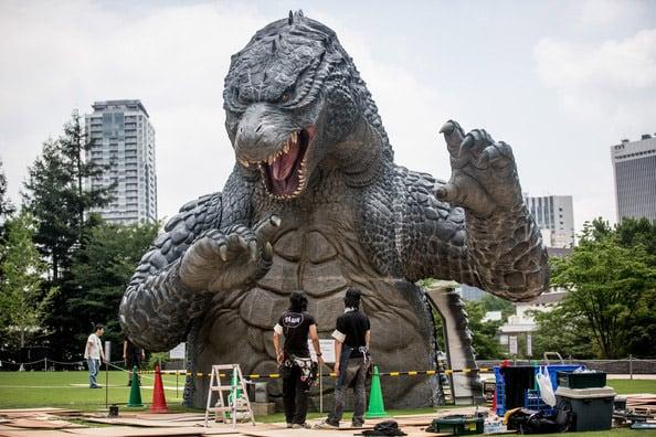 Godzilla Invades Tokyo: Midtown Meets Godzilla