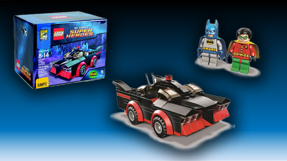 LEGO Super Heroes: 1966 Batmobile and Dynamic Duo