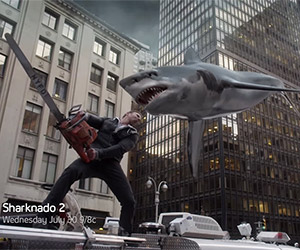 Sharknado 2: The Second One, Awesome New Trailer