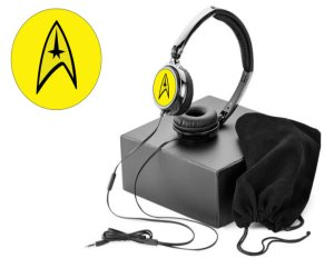 Star Trek Yellow Command Headphones
