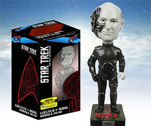 Star Trek TNG Locutus of Borg Bobble Head
