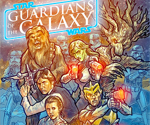 Star Wars Guardians of the Galaxy Mashup