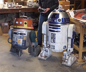 Chopper Droid from Star Wars Rebels Comes to Life