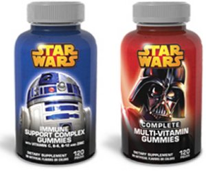 Nature Smart Star Wars Vitamins