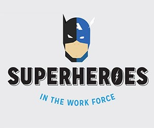 Superheroes in the Work Force