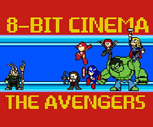 The Avengers: Retold in 8-Bit Cinema