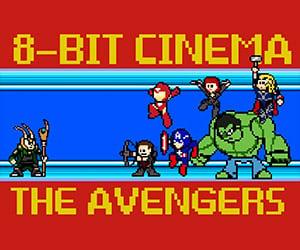 The Avengers: Retold in 8-Bit Cinema