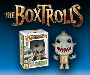 The Boxtrolls Funko Pop! Vinyl Figures