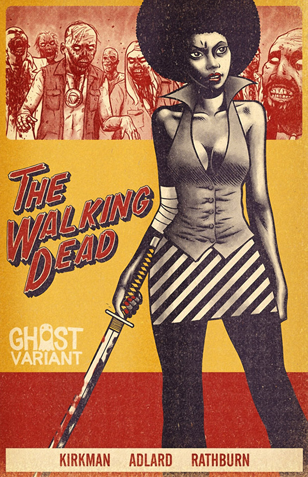 The Walking Dead: Ghost Variant Cover Art