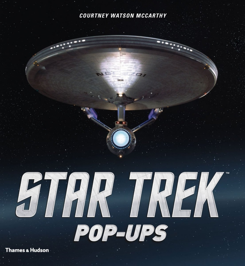 Stunning Star Trek Pop-Ups Book