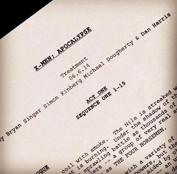 Bryan Singer Teases X-Men: Apocalypse Script