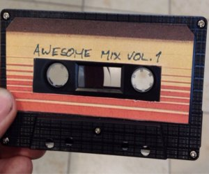 Homemade Guardians of the Galaxy Awesome Mix Vol. 1