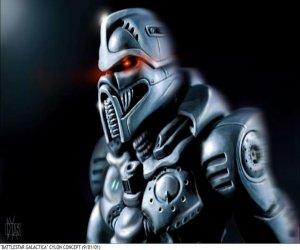 Concept Art from Bryan Singer's Battlestar Galactica