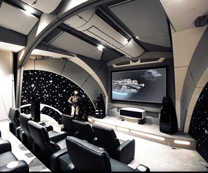 The Death Star Home Theater