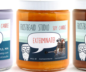 Frostbeard's Geeky Candles