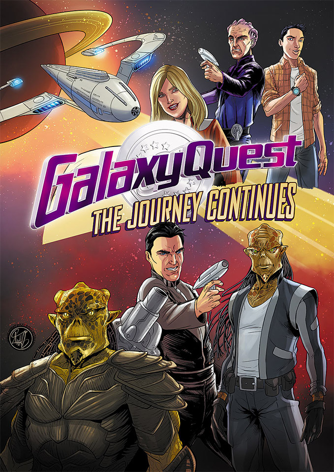 Galaxy Quest Is Returning as a Comic Book